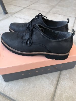 Oxfords black leather