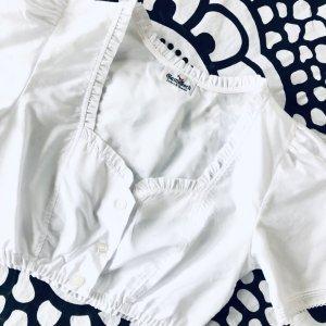 Gamsbock Traditional Blouse white