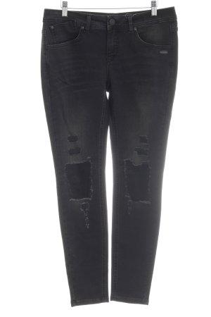 Gang Jeans a 7/8 nero stile classico
