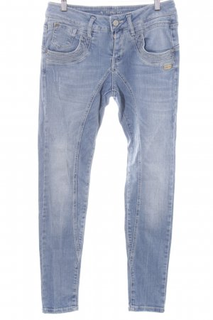 Gang Jeans larghi blu fiordaliso stile casual
