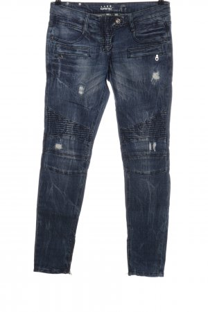 Gang Bikerjeans blau Casual-Look