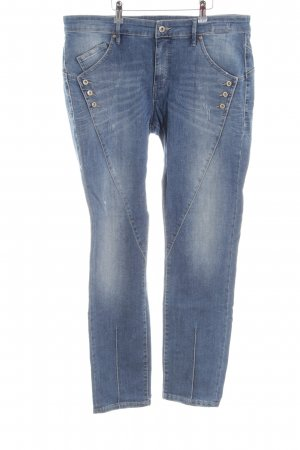 Gang Boyfriendjeans blau Casual-Look