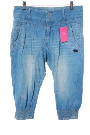 Gang Pantalón estilo Harem azul celeste look casual
