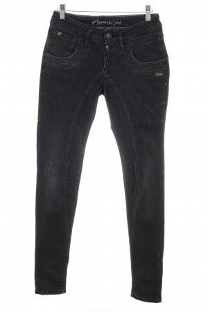 Gang High Waist Jeans taupe Destroy-Optik