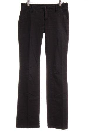 Gang Lage taille broek zwart casual uitstraling
