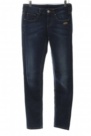 Gang Low Rise Jeans dark blue washed look