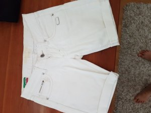 Gang Shorts bianco Cotone