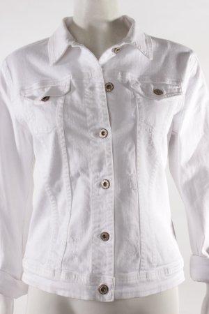 Gang Jeansjacke weiß