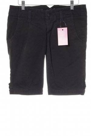 Gang Jeansshorts schwarz Casual-Look