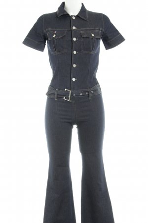 Gang Jumpsuit dunkelblau Jeans-Optik