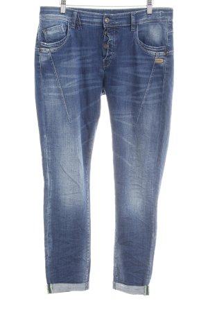 Gang Wortel jeans staalblauw casual uitstraling