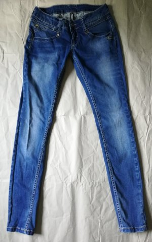 Gang Tube Jeans steel blue cotton