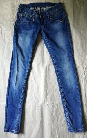 Gang Jeans cigarette bleu acier