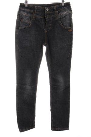 Gang Jeans a sigaretta nero-grigio scuro stile casual