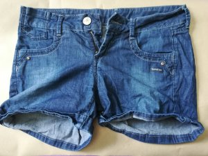 Gang Shorts in intensivem blau W27