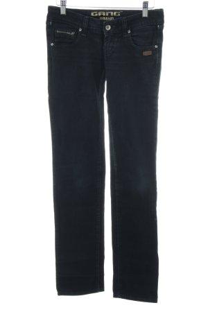 Gang Skinny Jeans schwarz Casual-Look
