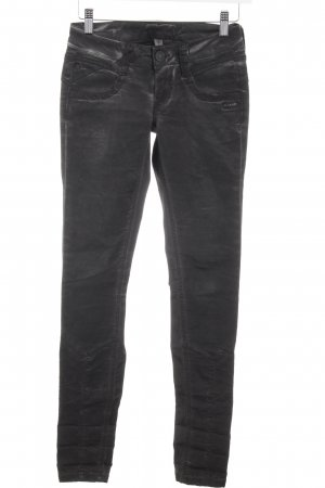 Gang Skinny Jeans anthrazit Washed-Optik