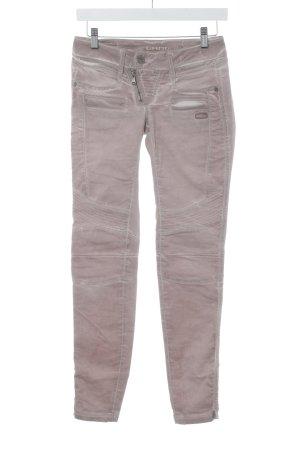 Gang Skinny Jeans blasslila-altrosa Used-Optik