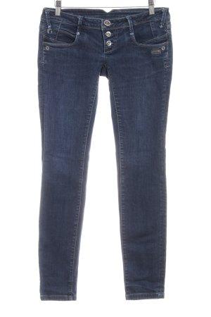 Gang Skinny Jeans dunkelblau schlichter Stil
