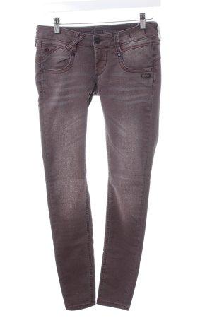 Gang Skinny Jeans grauviolett Casual-Look