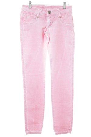 Gang Skinny Jeans rosa extravaganter Stil