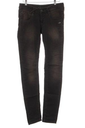 Gang Skinny Jeans schwarzbraun Casual-Look