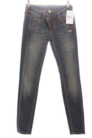 "Gang Skinny Jeans ""SUN Skinny"" dunkelblau"