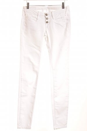 Gang Skinny Jeans weiß Casual-Look