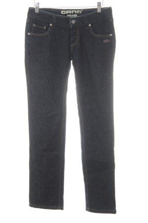 Gang Slim Jeans blau-dunkelblau Casual-Look