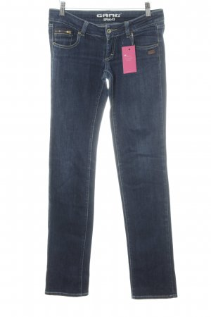 Gang Slim Jeans dunkelblau Casual-Look