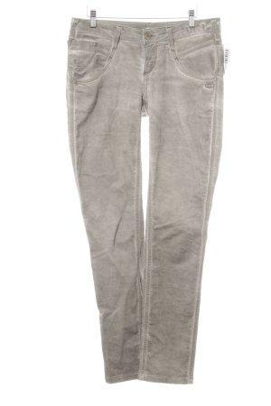 Gang Slim Jeans graubraun Street-Fashion-Look