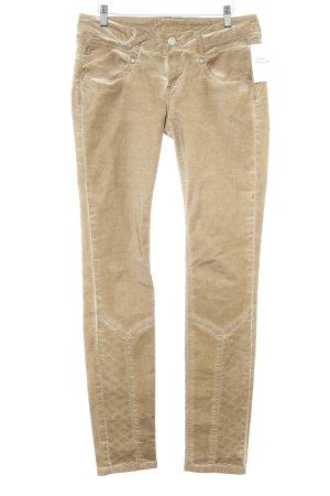 Gang Slim Jeans hellbraun Street-Fashion-Look