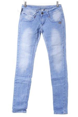 Gang Slim Jeans kornblumenblau Jeans-Optik