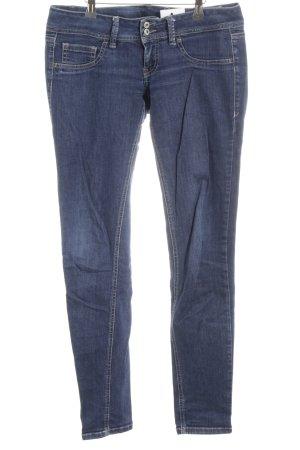 Gang Slim Jeans stahlblau College-Look