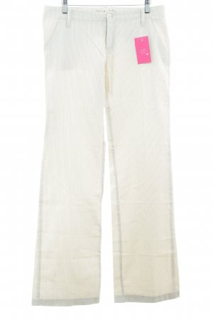 Gang Stoffhose creme-hellbraun Mustermix Casual-Look