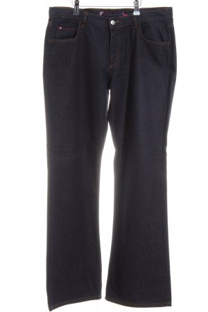 Gang Straight-Leg Jeans blau Casual-Look