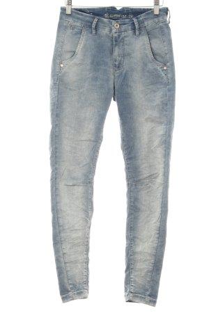 "Gang Straight-Leg Jeans ""Chiara "" himmelblau"