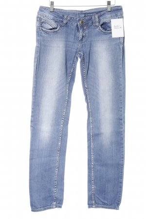 Gang Straight-Leg Jeans himmelblau Casual-Look