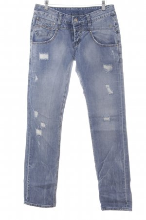 Gang Straight-Leg Jeans mehrfarbig Casual-Look