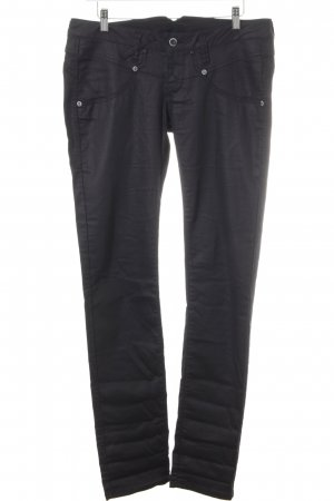 Gang Straight-Leg Jeans schwarz Casual-Look