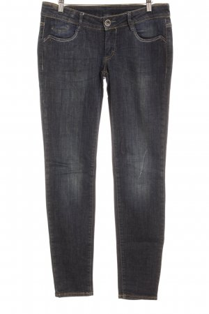 Gang Stretch Jeans dunkelblau Casual-Look