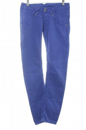 Gang Stretchhose blau Casual-Look