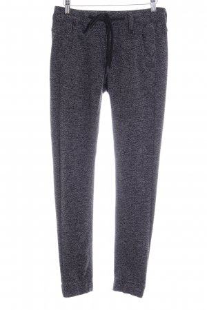 Gang Pantalon de jogging noir-blanc cassé style décontracté