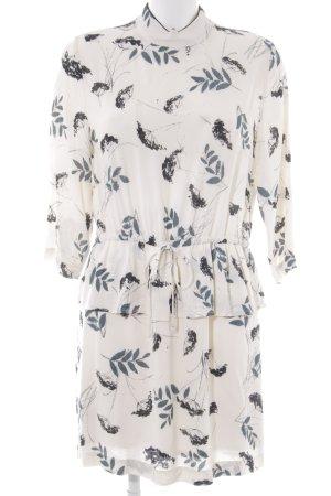Ganni A-Linien Kleid Blumenmuster