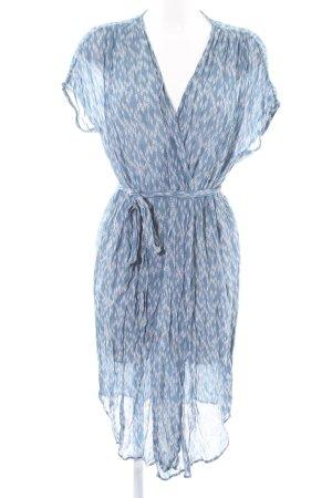 Ganni Cardigan blau abstraktes Muster Casual-Look
