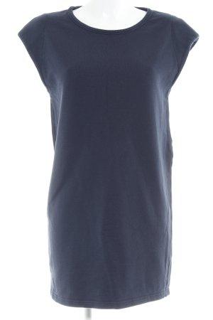 Ganni Jerseykleid dunkelblau Casual-Look