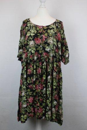 Ganni Kleid Blusenkleid Gr. M Blumen oversized