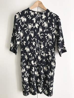 GANNI Kleid Maxwell, dunkelblau, Gr. 38