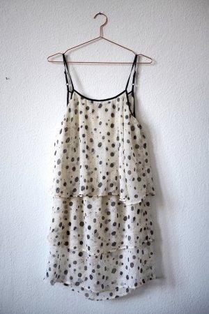 Ganni Kleid mit Volants