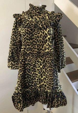Ganni Leopard Dress, Size: 36